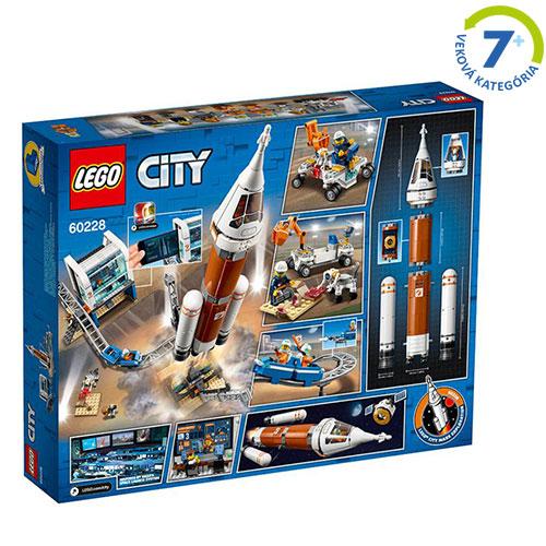 LEGO - Štart vesmírnej rakety