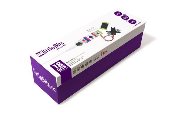 stavebnica littleBits - sada deluxe