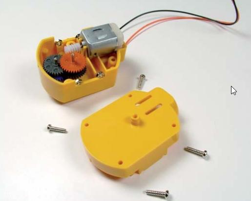 robotická ruka - stavebnica