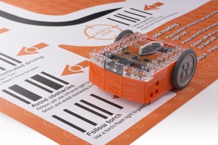 robot Edison - podložka