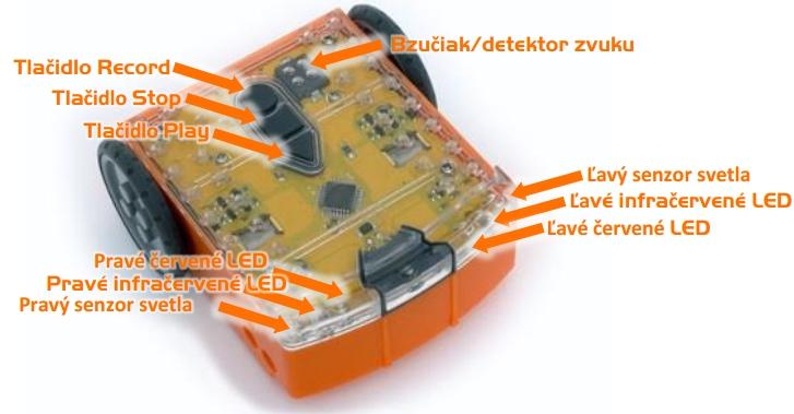 robot Edison - konštrukcia