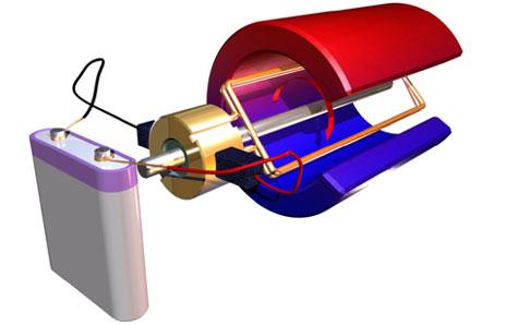 technické stavebnice - elektromotor
