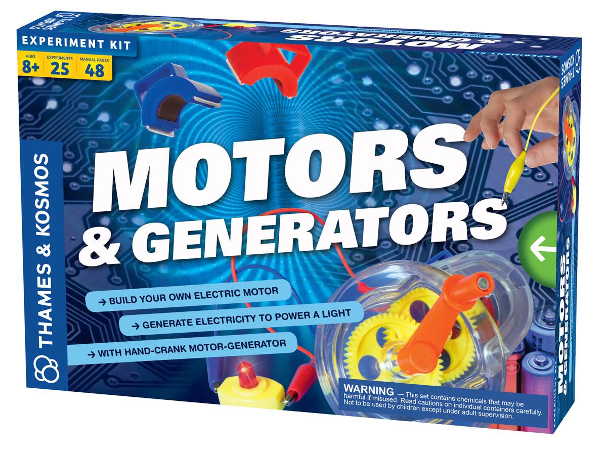 Motory a generátory