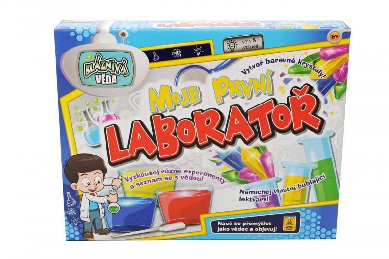 Moje prvé vedecké laboratórium