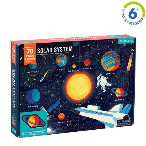 Puzzle Slnečná sústava - 70ks