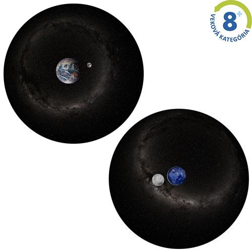 Dvojdisk - Zem a Mesiac a deň a noc