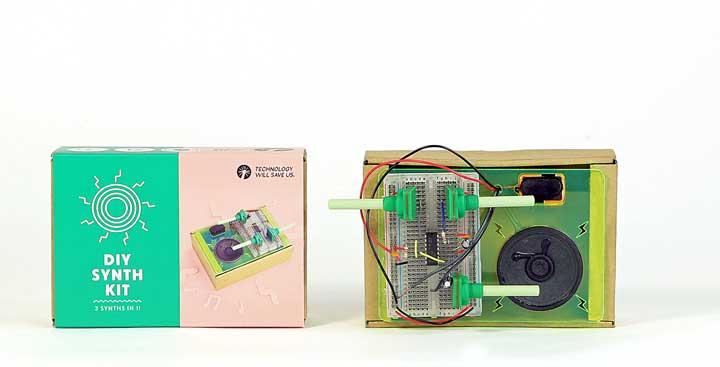 elektronická stavebnica - syntenzátor