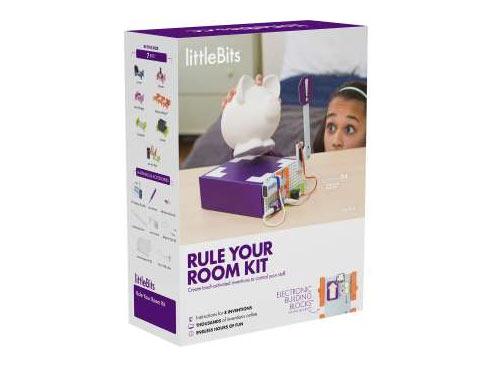 stavebnica littleBits - ovládni svoju izbu